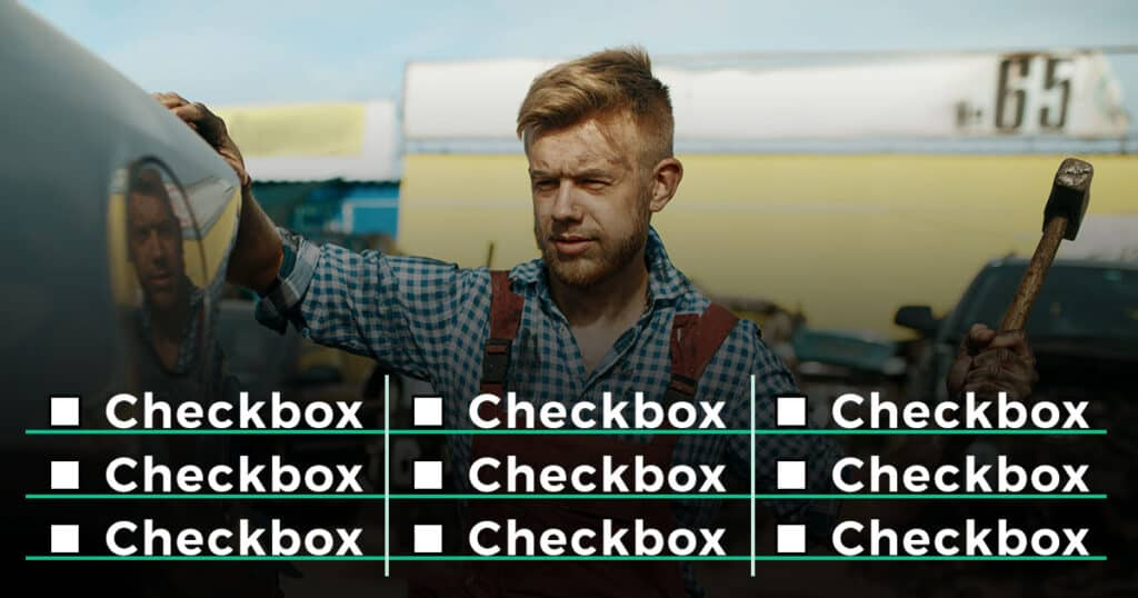 elementor checkboxes