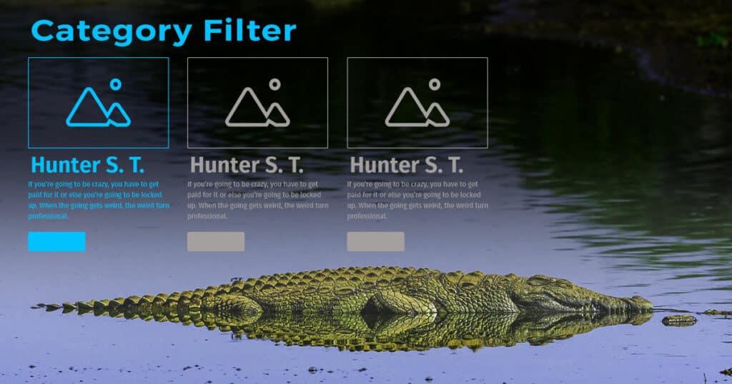 Crocoblock Filters